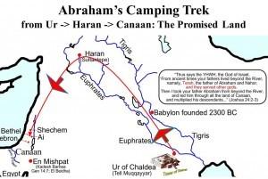 abraham journey map